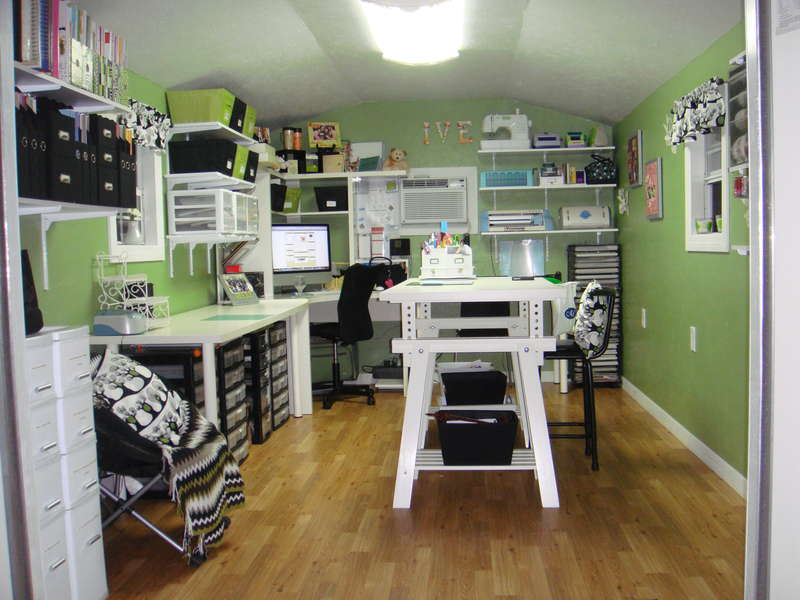 COMPLETED SCRAPBOOK ROOM- ORGANIZE