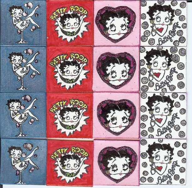 Betty Boop Inchies