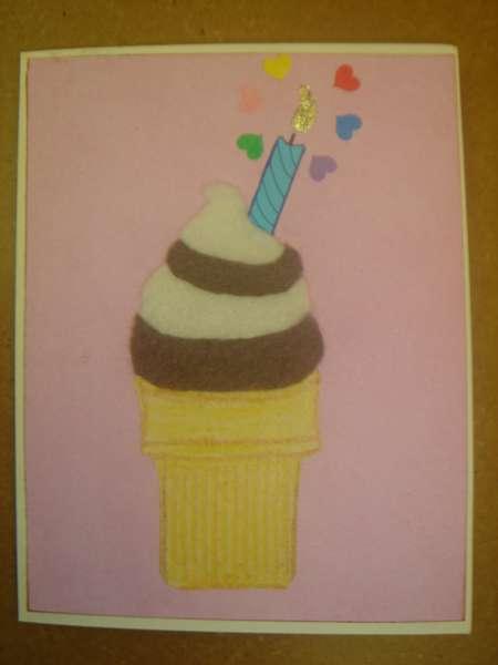 Fro-Yo Birthday Card