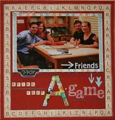 Friends and their board games