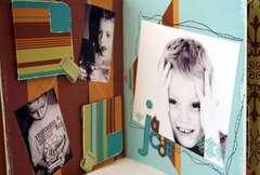 My Grandchildren Hide & Seek Album Inside Pages