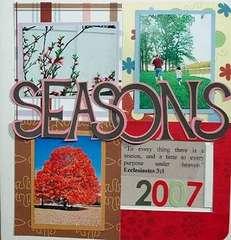 Seasons 2007 Slide Book Cover