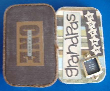Grandpa's Father's Day Tin Front & Back