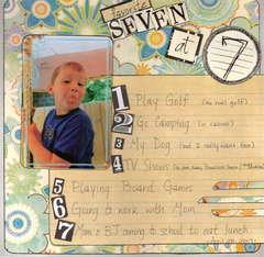 favorite 7 at 7