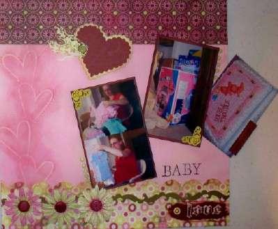 Baby Love With Hidden Photo