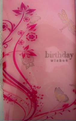 TRANSPARENCY BIRTHDAY CARD