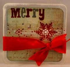 Merry Clear Card
