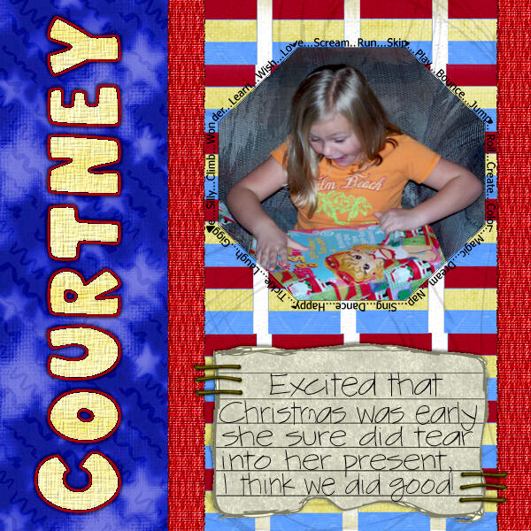 Courty ~ Christmas 2006