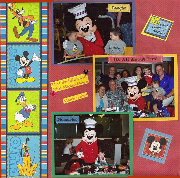 Disney Chef Mickey