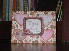 ~*~ Birthday Card for my daughter in law ~*~