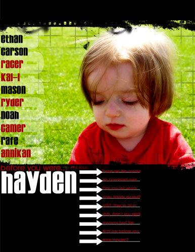 Before You Were Hayden