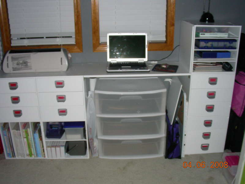 one of two desks
