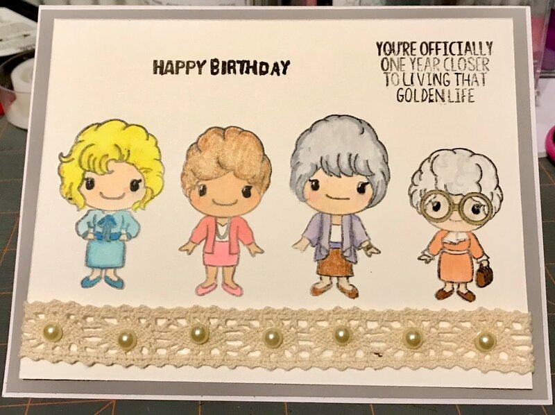 Golden girls birthday