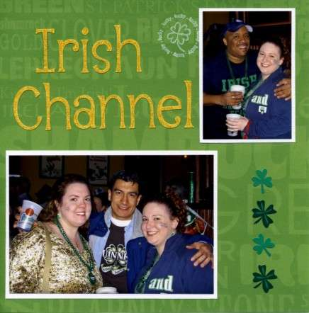 St. Patrick's Day at the Irish Channel, 2006