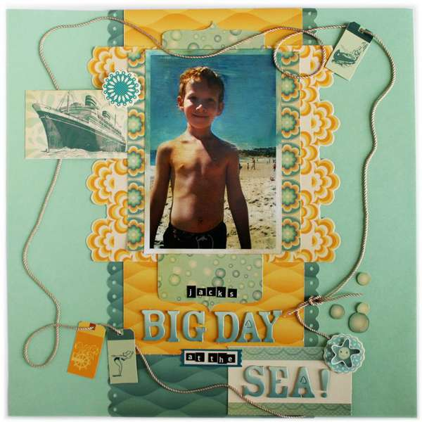 Jack's Big Day at the Sea