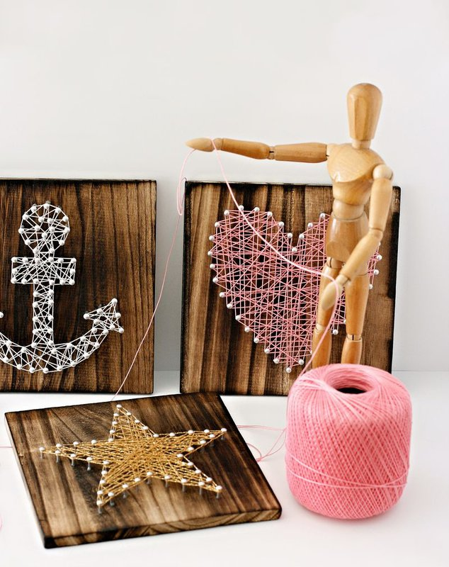 String Art Board Home Decor from Cosmo Cricket