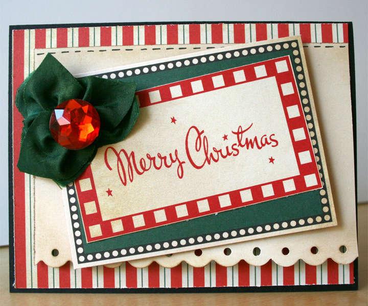 Cosmo Cricket: Christmas Card