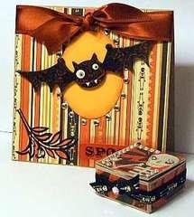 Cosmo Cricket Halloween Card