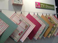 Brand New Winter CHA 2013 Cosmo Cricket TV Dinner Collection