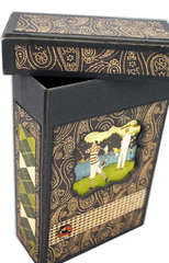 Father's Day Gift Idea - Altered Box