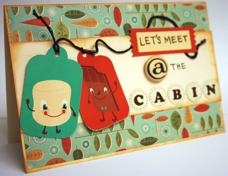 Let's Meet @ The Cabin by Julie Comstock