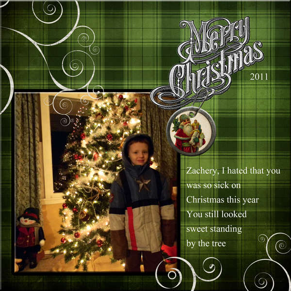 Merry Christmas Zach