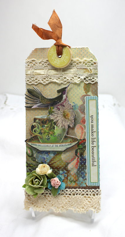 Tag - Bird Tag For Martica's Swap