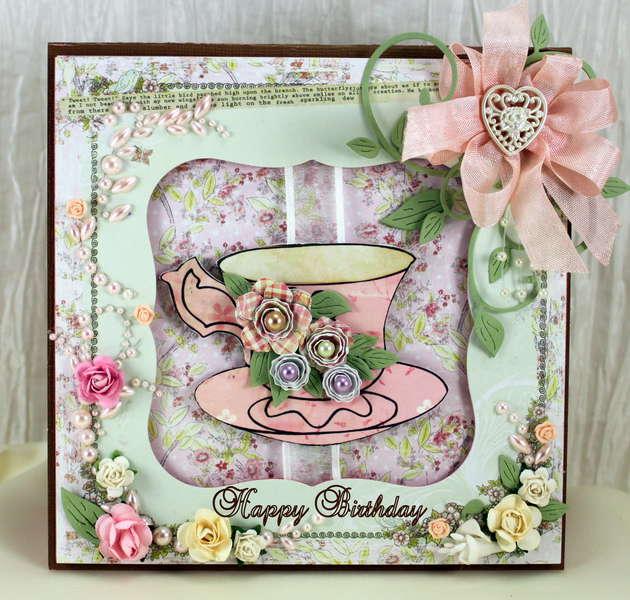 Birthday Card - The Shabby Tea Room