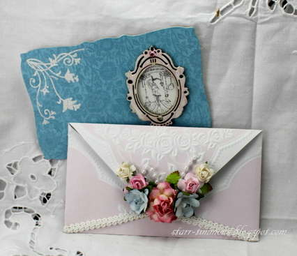Envelope Card - DT work for The Shabby Tea Room