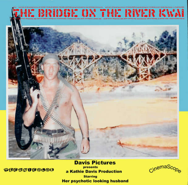 Movie title challenge: A Bridge over the River Kwai