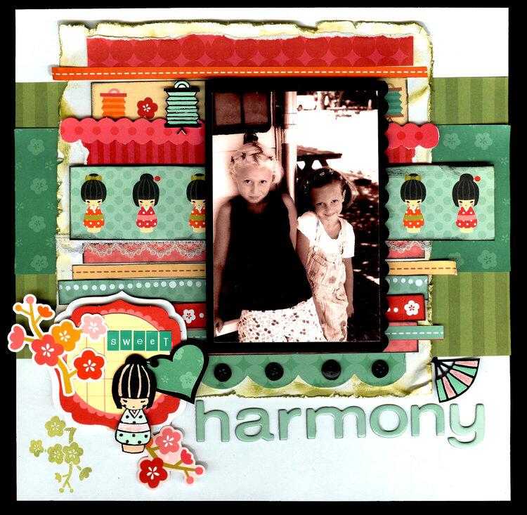 Sweet Harmony *My Little Shoebox*