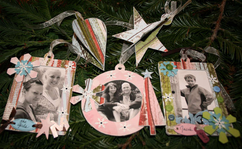 Rusty Pickle: Christmas ornaments