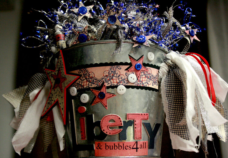 Rusty Pickle: Liberty and bubbles for all