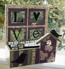 Rusty Pickle: Love recipe box