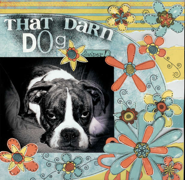 That darn dog *Technique Tuesday Contest*