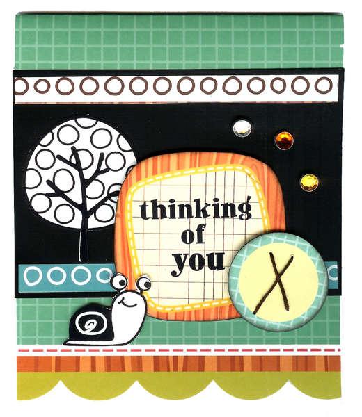 Thinking of you card *My Little Shoebox*