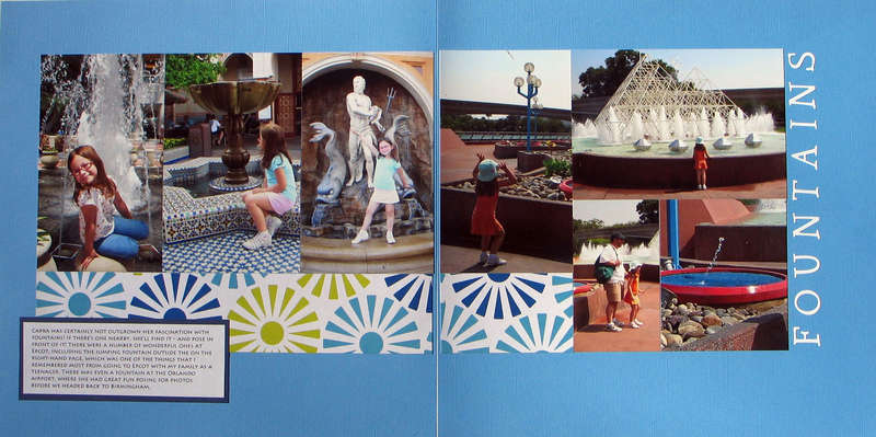Fountains at Disney World