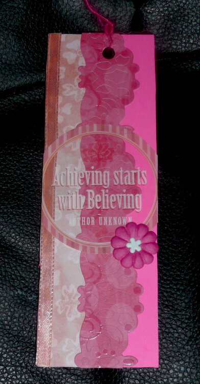 Achieving stars with Believing bookmark