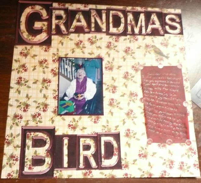Grandma's Bird