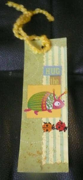 Hug the bug Bookmark