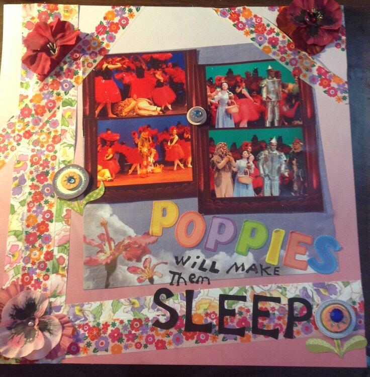 Poppies will make them sleep
