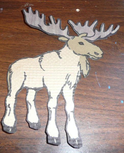 Moose Paper Piecing