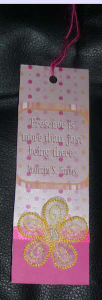 Presence is more than just being there bookmark