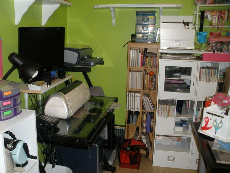 Computer/Cricut area