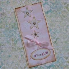 {It's a girl}