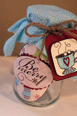 Be Merry Cocoa Jar - Gift