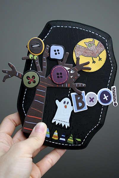 Boo Wood Plaque