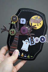 Boo Wood Plaque