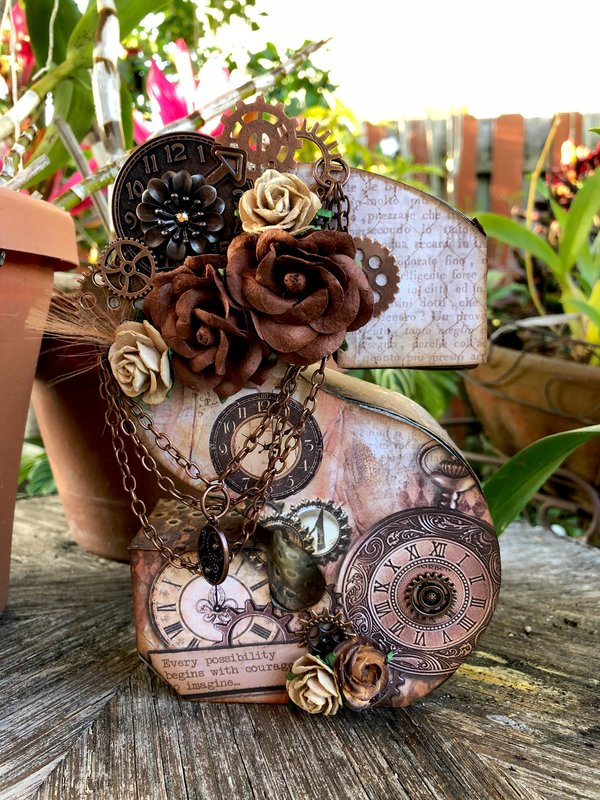 Altered Steampunk Letter 'S'