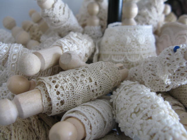 Clothes Pins/Lace